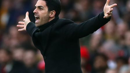 Arsenal manager Mikel Arteta has been diagnosed with Covid-19 Picture: Bradley Collyer/PA