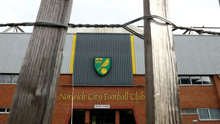 Carrow Road has sat empty since February 29 due to the coronavirus shutdown Picture: Bradley Collyer