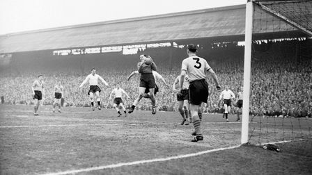 Action from City's FA Cup semi-final replay against Luton Picture: Archant