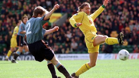Grant during his Norwich City playing days. Picture: Keith Whitmore/Archant