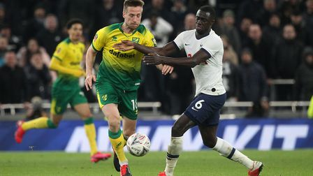 Marco Stiepermann in action at Tottenham ... how key is he now? Picture: Paul Chesterton/Focus Image