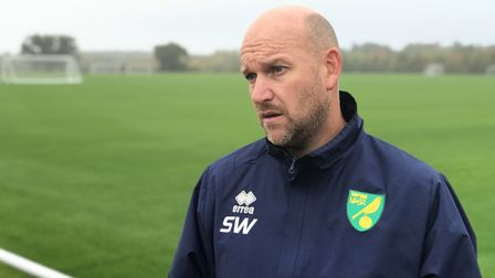 Norwich City academy manager Steve Weaver has given goalkeeper Daniel Barden a new contract. Picture
