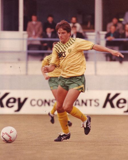 IC285: David Phillips, ncfc. Photo: Archant Library