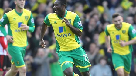 Alex Tettey's first Premier League goal for Norwich City against Sunderland was one to savour back i
