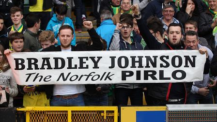 Johnson was loved by City supporters. Picture: Paul Chesterton/Focus Images Ltd