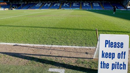 Bury have already gone under ... who's next? Picture: PA