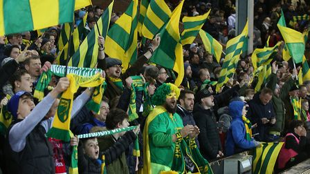 Football at Carrow Road is a much-needed part of life for Norwich fans, for many reasons Picture: Pa