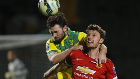 Kyle Callan-McFadden made one senior appearance for the Canaries Picture: Matthew Usher.