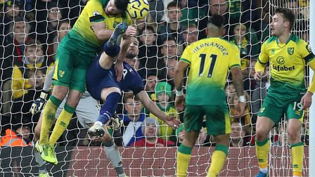Harry Kane salvaged a point for Tottenham at Carrow Road in December. A game Kyle Callan-McFadden wa