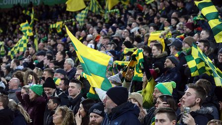 Norwich fans in full voice at Carrow Road Picture: Paul Chesterton/Focus Images Ltd
