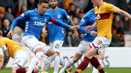 Motherwell's David Turnbull appeared to have the world at his feet and transfer interest from Norwic