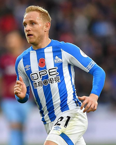 Alex Pritchard left for Huddersfield in the January of 2018. Picture: PA