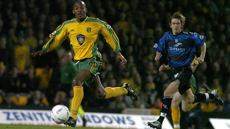 Francis in action for City against Gillingham at Carrow Road. Picture: Nick Butcher/Archant