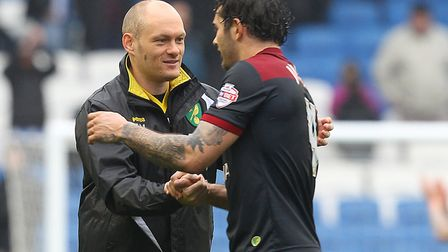 Bradley Johnson and ex-City boss Alex Neil remain in contact. Picture: Paul Chesterton/Focus Images