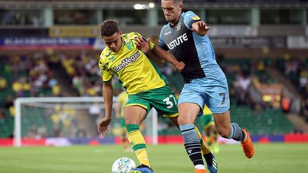 Aarons made his debut in the League Cup against Stevenage back in 2018. Picture: Paul Chesterton/Foc