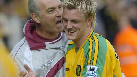Mathias Svensson was the City match-winner against Charlton in 2005 Picture: Archant