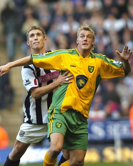 Mathias Svensson in action against West Brom at The Hawthorns Picture: Archant