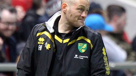 Alex Neil at Bristol City in his final game as Norwich City manager Picture: Paul Chesterton/Focus I