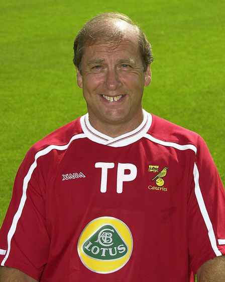 Terry Postle, kit manager under many sponsors Picture: Archant