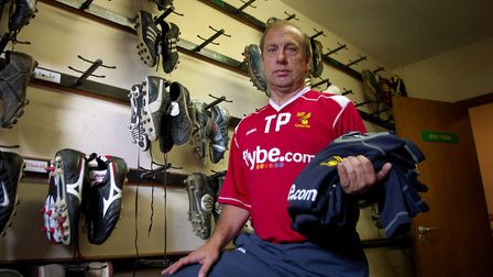 Terry Postle sorted the boots... but didn't clean them Picture: Archant