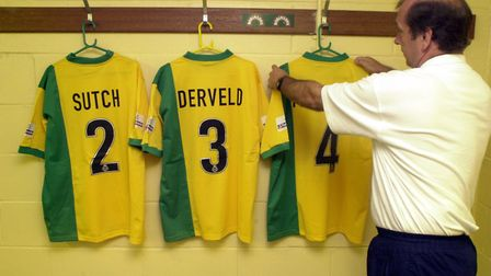 Game face on - Terry Postle at Carrow Road Picture: Archant