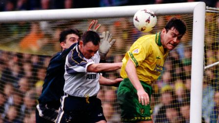 Rob Newman was part of a glorious era in Norwich City's history. Picture: Archant