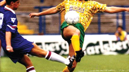 Rob Newman believes Norwich City could have won the Premier League in 1993. Picture: Archant