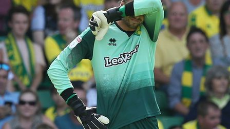 Tim Krul had a nightmare against West Brom. The Norwich City would have many more good days ahead Pi