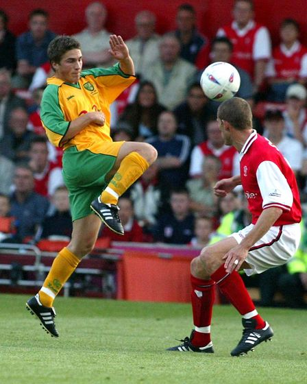 Paul McVeigh in action at Rotherham Picture: Archant