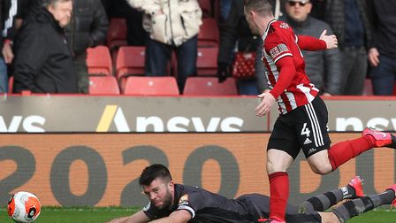 City's last game was a 2-0 Premier League defeat to Sheffield United in early March. Picture: Paul C