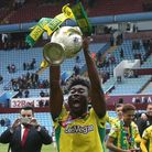 Norwich City's longest-serving player on the books, Alex Tettey, savours a Championship title win at