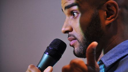 Former Norwich City player Leon McKenzie - now an influential speaker on mental health awareness Pic