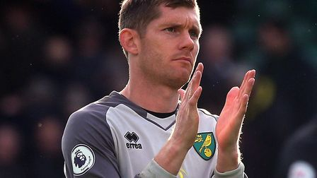 Norwich City keeper Michael McGovern fulfilled a dream when he made his full Premier League debut ag