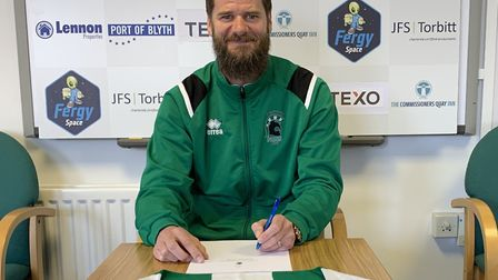 Michael Nelson - Blyth Spartans' new boss Picture: Blyth Spartans FC