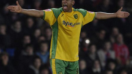 Dion Dublin was a major influence on the Norwich City dressing room Picture Ady Kerry/AK Pictures
