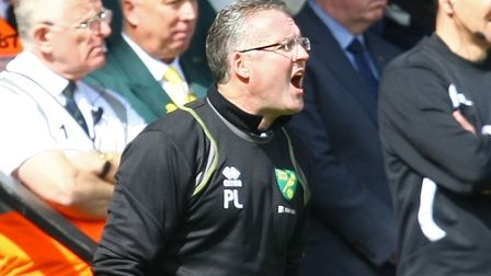 Paul Lambert's man-management was second to none when he arrived at Carrow Road Picture: Paul Cheste