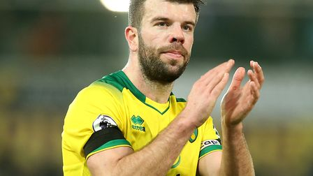 Grant Hanley admits the uncertainty is difficult for Norwich City's squad Picture: Paul Chesterton/