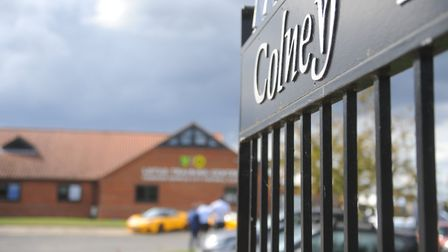 The entrance to Norwich City's training ground at Colney Picture: Tony Thrussell