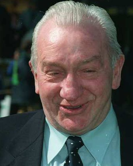 Johnny Gavin in 2001 Picture: Archant