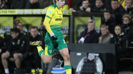 Todd Cantwell had impressed for Norwich City in the Premier League Picture: Paul Chesterton/Focus Im