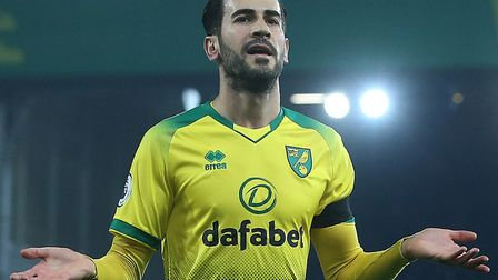 Mario Vrancic celebrates his only goal of the season so far, during a 2-2 home draw with Tottenham i