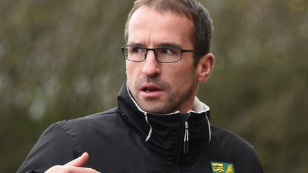 David Wright originally joined Norwich City to take charge of the Under-18s Picture: Denise Bradley