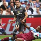 Sebastien Haller escaped even a yellow card. Christoph Zimmermann was not so lucky in Norwich City's