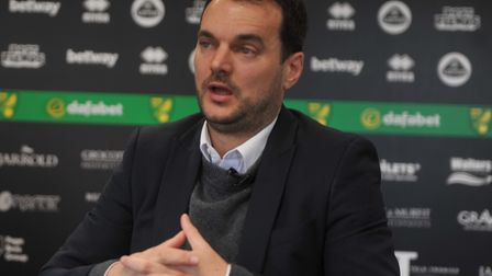 Norwich City's sporting director Stuart Webber Picture: Tony Thrussell