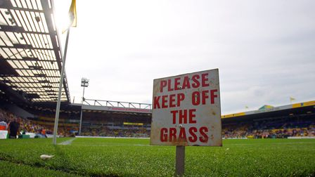 And no ball games... Picture: Paul Chesterton/Focus Images Ltd
