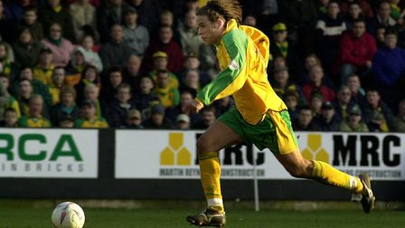Russell during his first spell as a City player. Picture: Simon Finlay/Archant