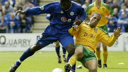 Darel Russell during his first spell as a Norwich City player. Picture: Nick Potts/PA Archive