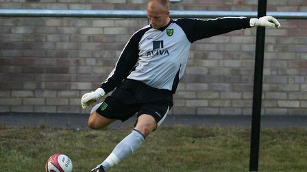 John Ruddy in action during a pre-season friendly at Dagenham Picture: Paul Chesterton/Focus Images
