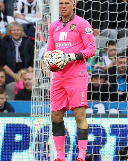 In the pink - John Ruddy Picture: Paul Chesterton/Focus Images Ltd