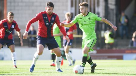 Alfie Payne in action at York City Picture: Ian Burt